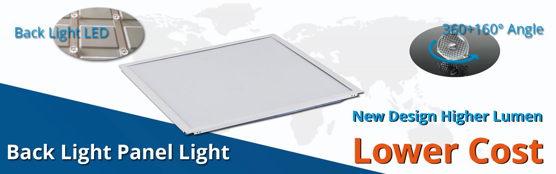 led back light panel light higher lumen lower cost